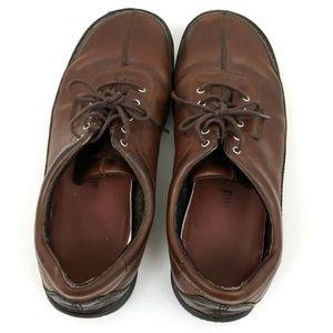 Merrell Shoes - Merrell Men's Sojourn Redwood Brown Leather